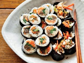 lutong bahay - korean seaweed and rice rolls