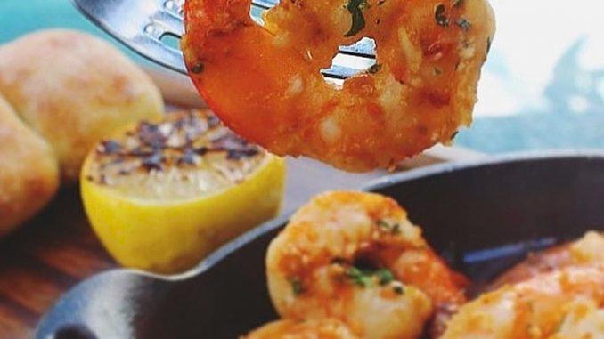 lutong bahay recipe-chili garlic prawn
