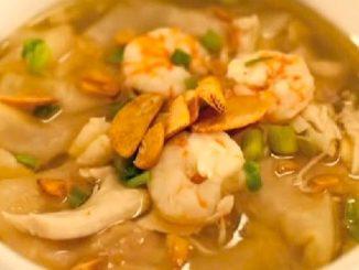 lutong bahay recipe-pancit molo