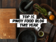 top 15 Pinoy food blog this year