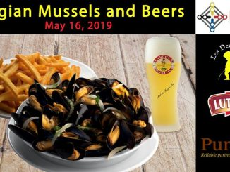 Belgian Mussels, Fries and Beers night