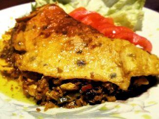 lutong bahay - bangus flakes omelet