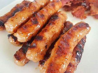lutong bahay - chicken longganisa