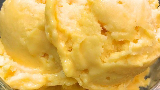 lutong bahay - mango ice cream