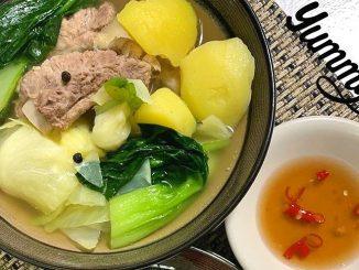 lutong bahay - pork ribs nilaga