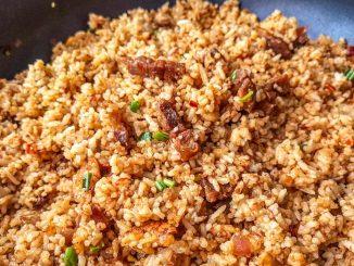 lutong bahay recipe-bagoong fried rice