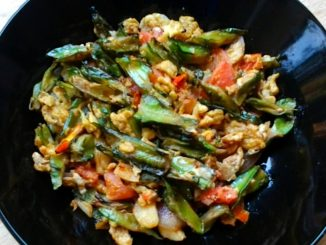 lutong bahay recipe-Sauteed Winged Beans with Eggs