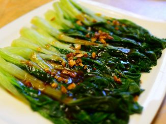 lutong bahay recipe-bok choy with oyster sauce