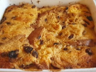lutong bahay recipe-bread and butter pudding