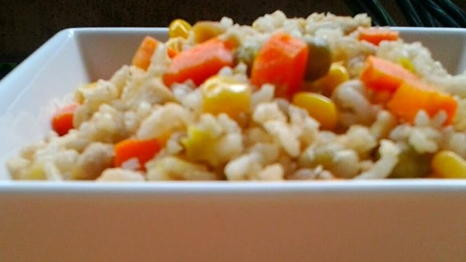 lutong bahay recipe-chicken fried rice