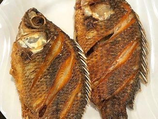lutong bahay recipe-fried tilapia