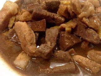lutong bahay recipe-higadillo