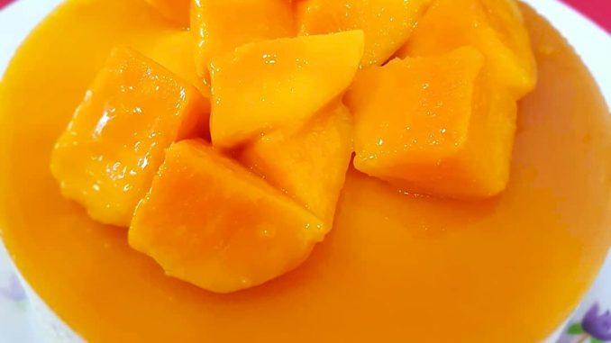 lutong bahay recipe-mango cheesecake no bake