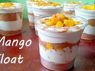 lutong bahay recipe-mango float