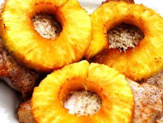 lutong bahay recipe-pineapple pork chops