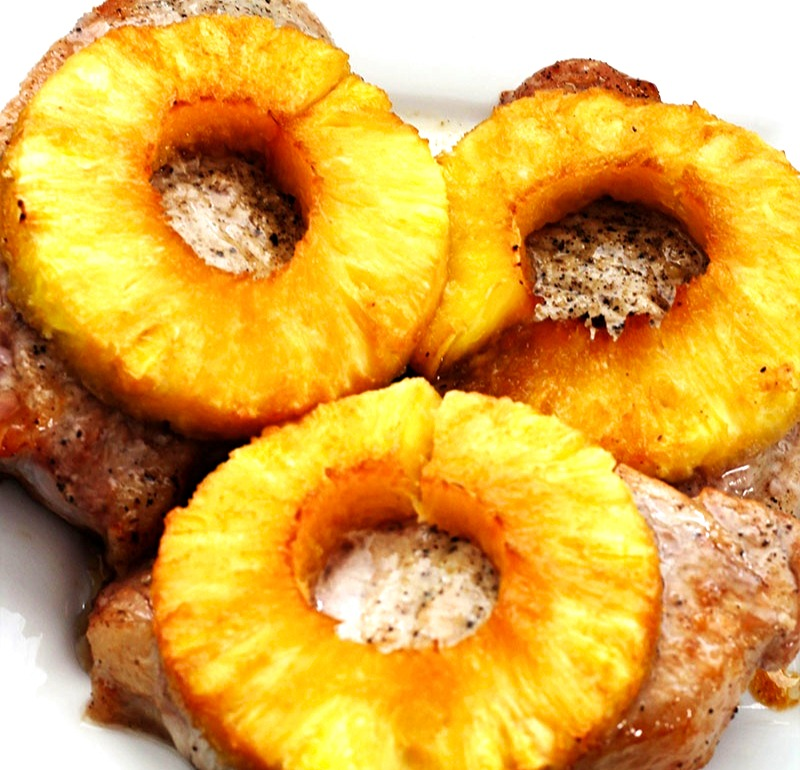 lutong bahay recipe-pineapple pork chops