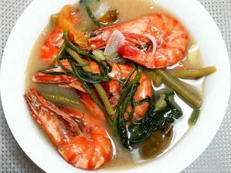 lutong bahay recipe-sinigang na hipon