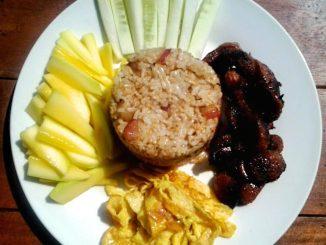 lutong bahay - bagoong fried rice