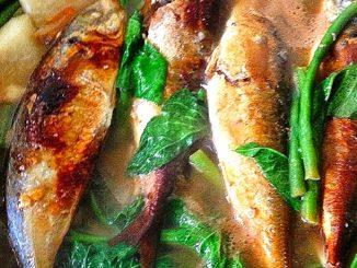 lutong bahay recipe-Sinigang na Tinapang Salinas