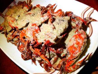 lutong bahay recipe-alimasag sa gata
