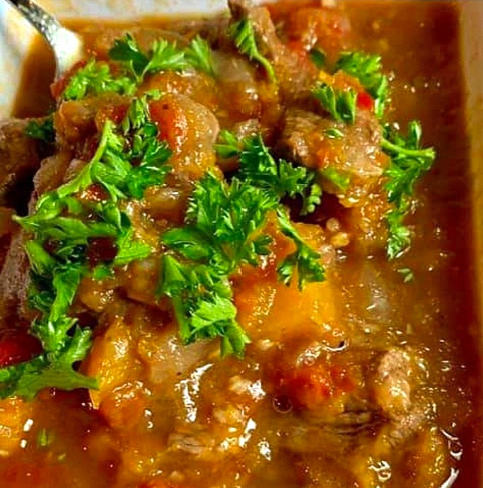 lutong bahay recipe-beef and squash stew