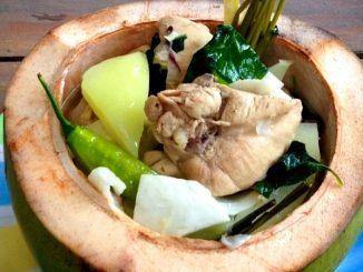lutong bahay recipe-chicken binakol