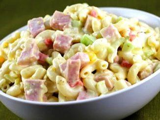 lutong bahay recipe-chicken macaroni salad