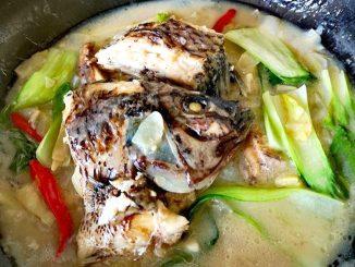 lutong bahay recipe-ginataang tilapia
