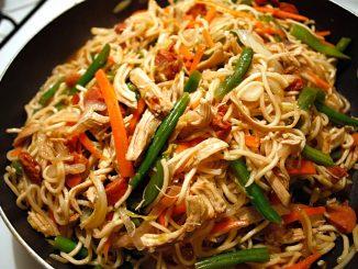 lutong bahay recipe-pancit canton