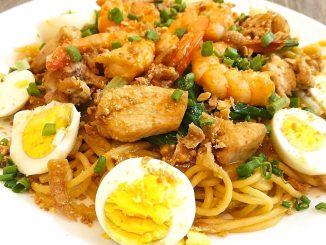 lutong bahay recipe-pansit malabon
