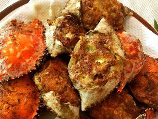 lutong bahay recipe-tortang alimasag