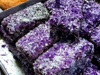lutong bahay recipe-ube bars