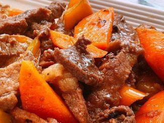 lutong bahay recipe-beef afritada