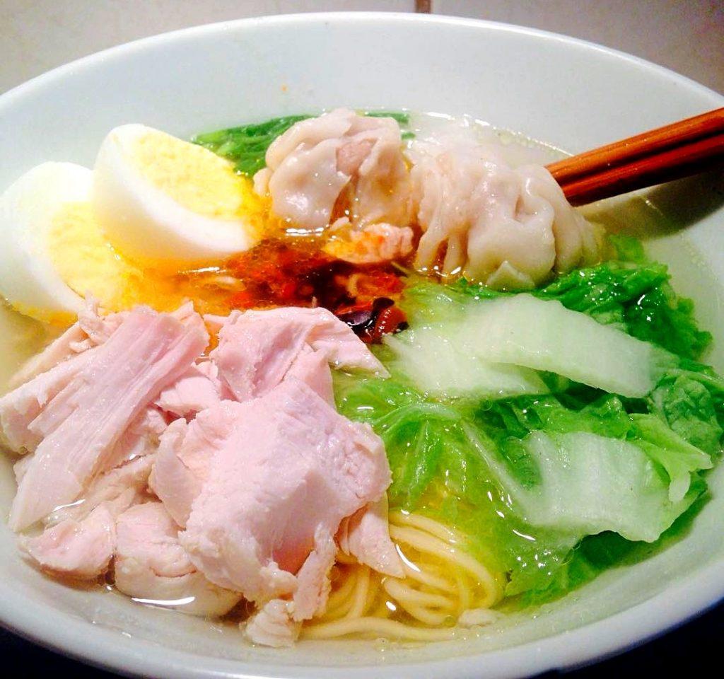 lutong bahay recipe-chicken wanton mami