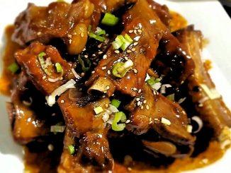 lutong bahay - pinaapple braised pork ribs