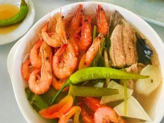 lutong bahay - seafood snigang