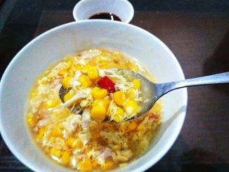 lutong bahay - chicken corn soup