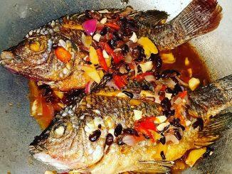 lutong bahay - fish tausi