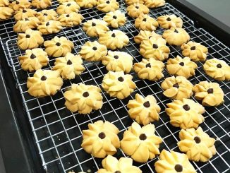 lutong bahay recipe - butter cookies