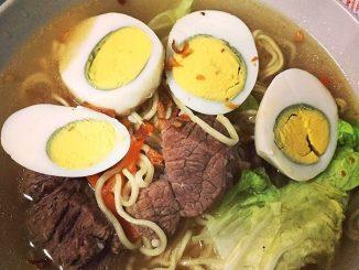 lutong bahay recipe - beef mami soup