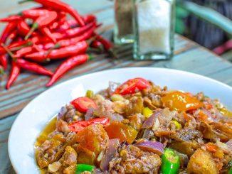 lutong bahay - crispy bicol express