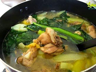 lutong bahay recipe - tinolang manok
