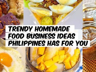 Trendy Homemade Food Business Ideas Philippines Has For You