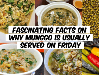 Fascinating Facts on Why Munggo is Usually Served on Friday