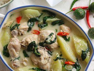 lutong-bahay-chicken-in-coconut-milk
